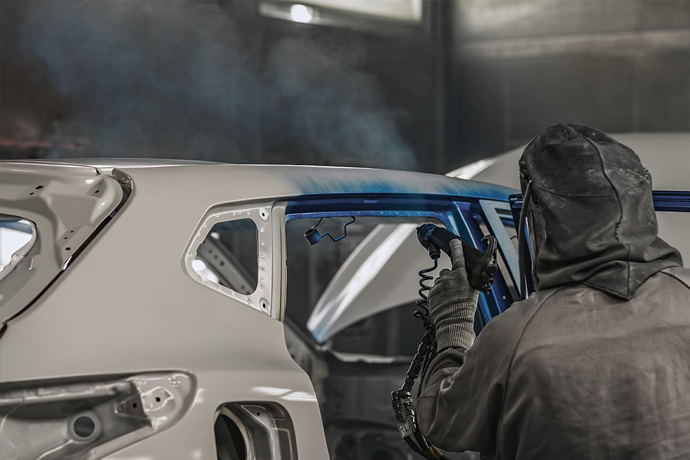 Auto body and paint repair